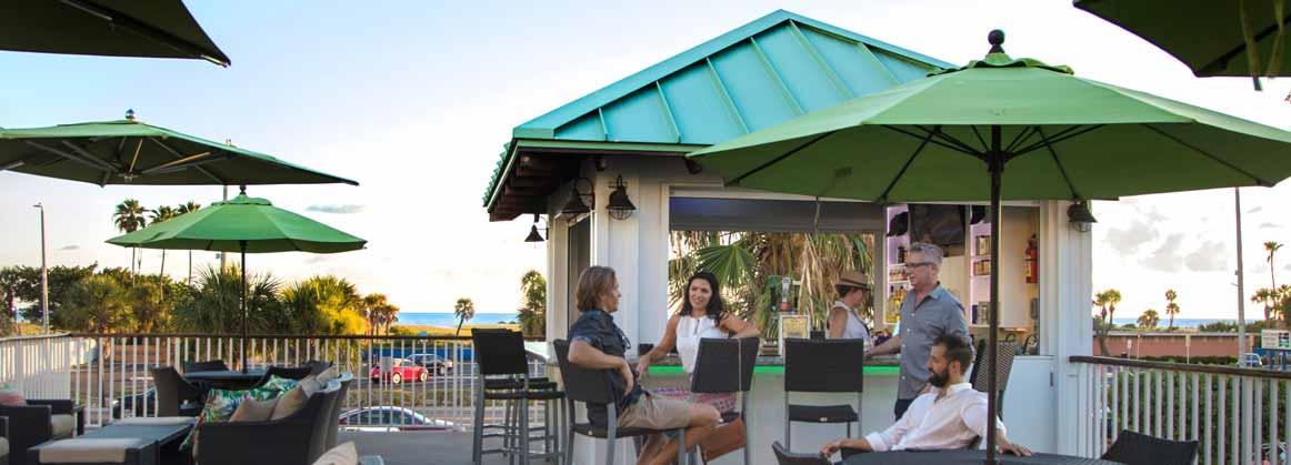 Sunset Cabana Bar at daytime