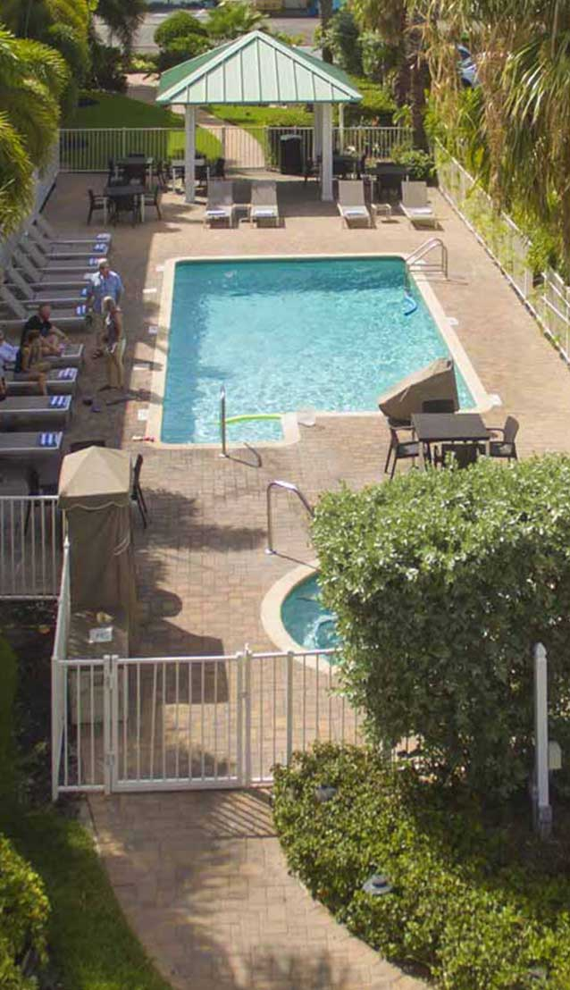 Treasure Bay Resort pool
