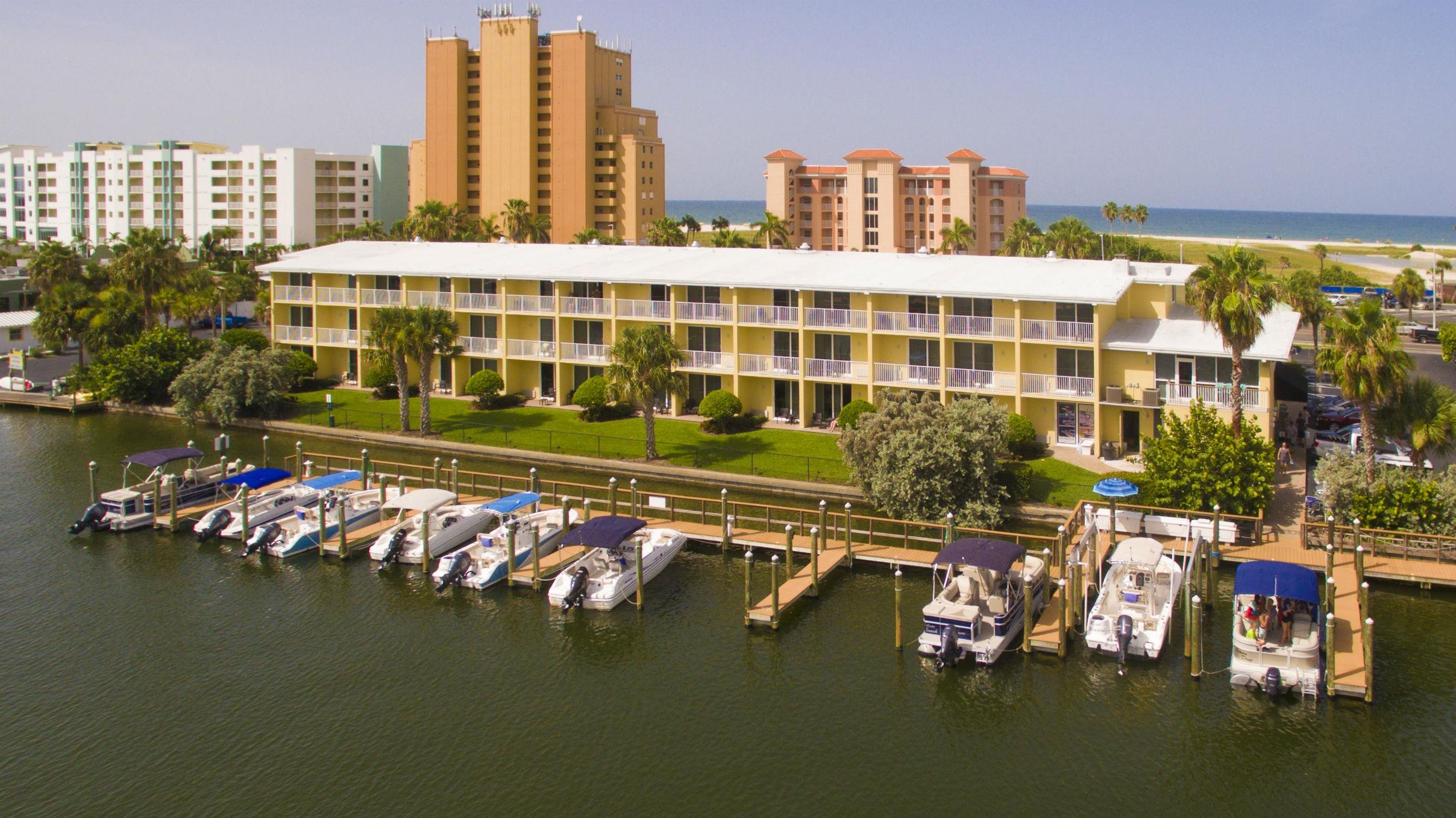 Treasure Bay Resort and Marina view from Marina