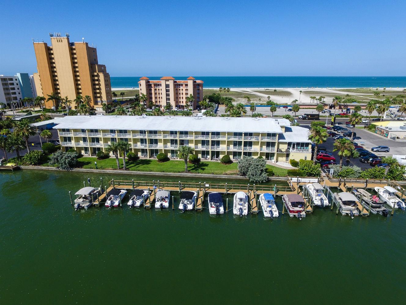 Treasure Bay Resort and Marina Ariel view