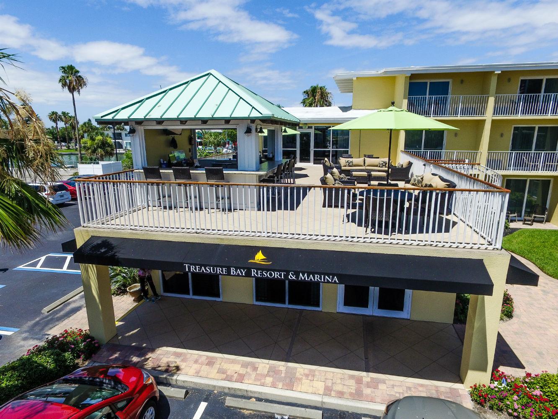 Treasure Bay Resort and Marina front