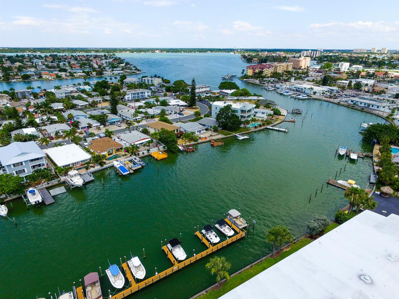 Treasure Island Marina view