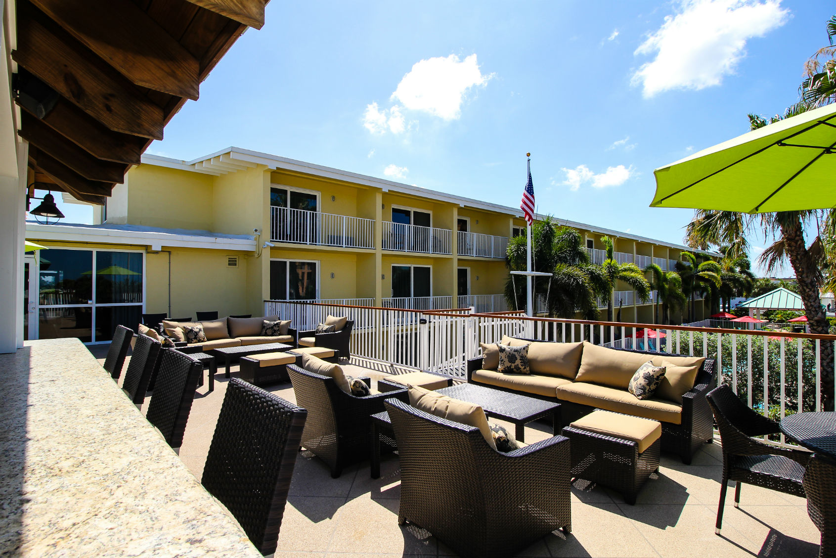 View from Sunset Cabana Bar