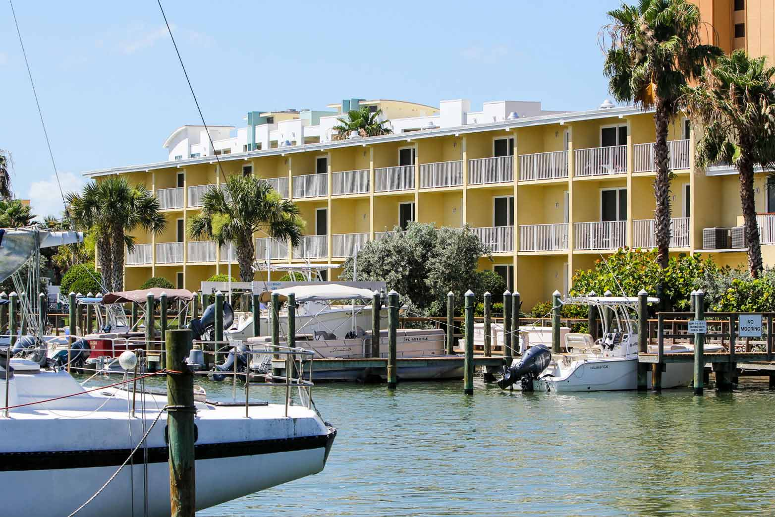 Treasure Bay Resort and Marina view form Marina