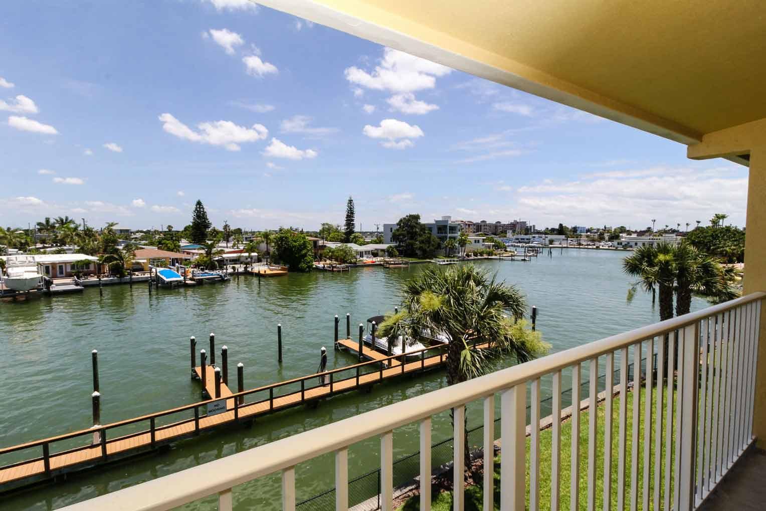 Treasure Bay Resort and Marina Balcony View