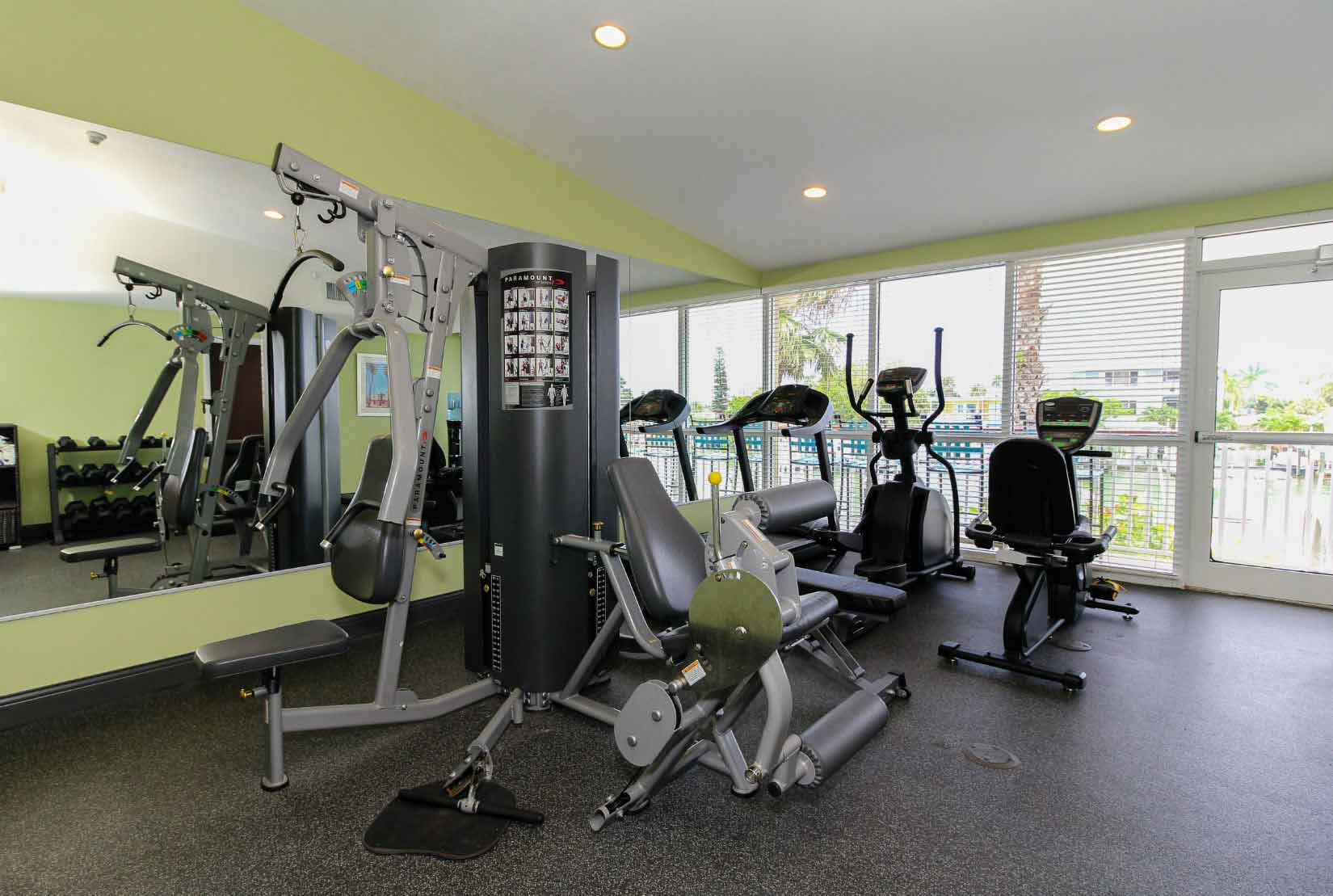 Fitness Room Treasure Bay Resort and Marina